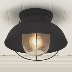 Nantucket Ceiling Light - modern - outdoor lighting - Shades of Light. AWESOME for porch!