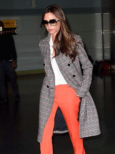 Star Tracks: Tuesday, October 27, 2015 | POSH PASSENGER  | Victoria Beckham looks picture-perfect even after a long flight as she arrives at JFK Airport in N.Y.C. on Monday.