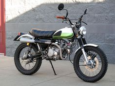 Honda SL70 Scrambler