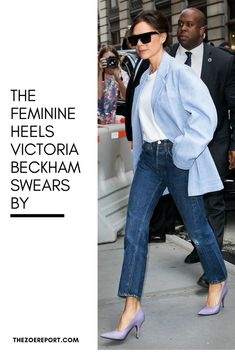 The Feminine Heels Victoria Beckham Swears By Victoria Beckham Shoes, Preppy Work Outfit, Star Fashion, Fashion Outfits, Hipster Girls, Weekend Outfit, Trends, Timeless Fashion, Style Icons