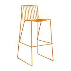 "Ceets 30"" Bar Stool Finish: Orange"