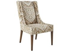 Curated Kravet LIMOGES SIDE CHAIR QR-13034.BROWN.0