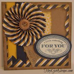 CTMH secret sister gifts Tommy Paper, Artiste.