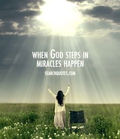 When God steps in, miracles happen. Amen..when we worship Jesus he inhabits our praise