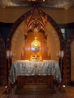Altar--My Lord and My God