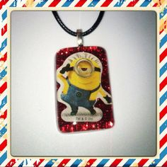 Minion Charmer Necklace from Peanut Butter n Jewels for $5 on Square Market find us on: facebook.com/pbnjewels instagram.com/pbnjewels twitter.com/pbnjewels