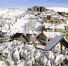 I would like to own a chalet, so that I can ski to my hearts content.