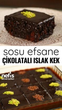 Sosu Efsane Çikolatalı Islak Kek – Nefis Yemek Tarifleri How to Make Sauce Legend Chocolate Wet Cake Recipe? Illustrated explanation of this recipe in the book of people and photos of those who have tried here Author: Semiray Ergün Yummy Recipes, Cake Recipes, Dessert Recipes, Yummy Food, Oreo Dessert, Chocolate Brownies, Chocolate Desserts, Chocolate Ganache, Summer Desserts