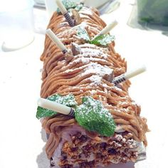 レシピとお料理がひらめくSnapDish - 21件のもぐもぐ - Chestnut chocolate cake #cake #chestnut #decoration #chocolate #jkitchen #jillkitchen by Jill Nyoman