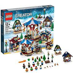 LEGO Creator Expert 10235 Winter Village Market (Discontinued by manufacturer) Buy Lego, Legos, Lego Batman, Lego Creator Sets, The Creator, Halloween Lego, Lego Winter Village, Candy Stand, Lego