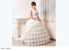 WORKS【Balloon Dress Feuce】 | Balloon Artist FUMICO Official Site|バルーンアーティスト FUMICO 公式サイト