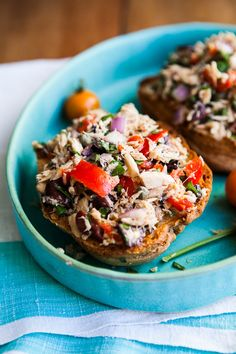 Tuna Salad With Peppadew Peppers, Olives and Herbs by KImberly Hasselbrink, etsy #Salad #Tuna