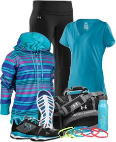 """""""Under Armour"""" by garbowvu on Polyvore"""