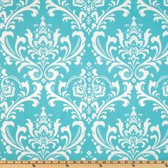 To reupholster my chairs?  Premier Prints Twill Ozborne Girly Blue - Discount Designer Fabric - Fabric.com