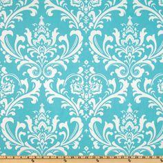 Premier Prints Twill Ozborne Girly Blue - Discount Designer Fabric - Fabric.com