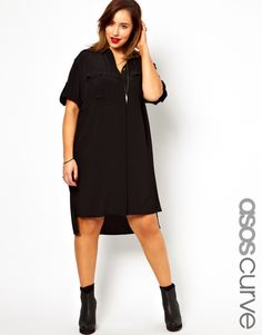 On The Plus Side: ASOS Curve Shirt Dress