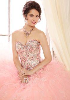45 Mejores Imágenes De Vestidos De 15 Años Color Rosa