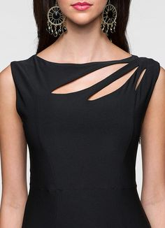 stylish neck designs for suits Cut Shirt Designs, Neck Designs For Suits, Neckline Designs, Dress Neck Designs, Designs For Dresses, Blouse Designs, Churidar Neck Designs, Kurta Neck Design, Kurta Designs Women