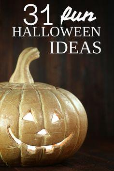 31 fun Halloween ide