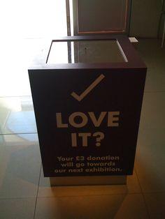 """Képtalálat a következőre: """"donation box museum"""""""