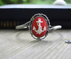 Anchor Bracelet  Nautical  Pinup