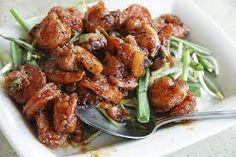 This was Jen's fave and so good. PF Chang's Copycat Recipes: Lemon Pepper Shrimp