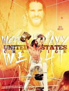 """Seth Rollins The Undisputed Champion. 😳 Looks like winning another title gave Sethie a 😳 """"stiffy! Dean Ambrose Seth Rollins, Wwe Seth Rollins, Seth Freakin Rollins, Seth Rollins Wallpaper, Roman Reigns Dean Ambrose, Best Wrestlers, Wwe Pictures, Men's Wrestling, Wwe Roman Reigns"""