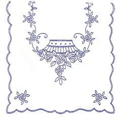Ubrus K 279 Embroidery Flowers Pattern, Flower Patterns, Machine Embroidery Designs, Sketch 4, Cut Work, Clothing Patterns, Tapestry, Quilts, Tables