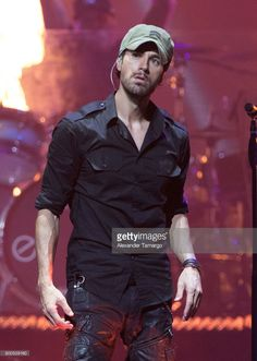 Enrique Iglesias performs on stage at the AmericanAirlines Arena on June 23, 2017 in Miami, Florida.