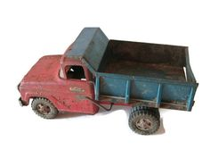 Rustic Tonka Truck  Vintage Toy  Man Cave by Relic189 on Etsy, $20.00
