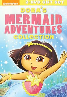 Follow everyone's favorite bilingual adventurer on some of her greatest underwater journeys in Dora the Explorer: Mermaid Adventures Collection. In stores and online now, this two-disc set from Nickelodeon comes with eight episodes, as well as two music videos.