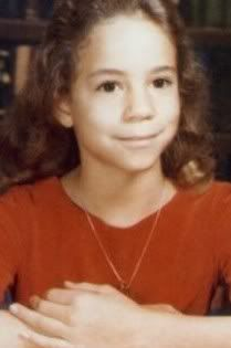 Mariah Carey as a kid Celebrity Yearbook Photos, Celebrity Baby Pictures, Celebrity Babies, Celebrities Then And Now, Young Celebrities, Celebs, Mariah Carey, Adele, Afro