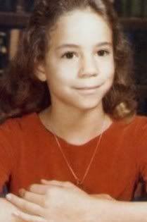 Mariah Carey childhood photo http://celebrity-childhood-photos.tumblr.com/