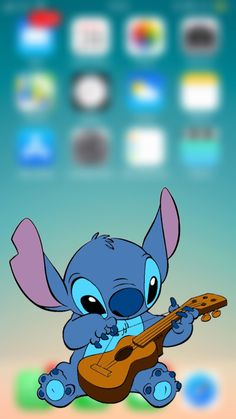 Cute Tumblr Wallpaper, Dark Wallpaper Iphone, Disney Phone Wallpaper, Cartoon Wallpaper Iphone, Iphone Background Wallpaper, Cute Cartoon Wallpapers, Aesthetic Iphone Wallpaper, Lilo And Stitch Drawings, Stitch Cartoon