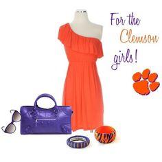 Clemson gameday dresses