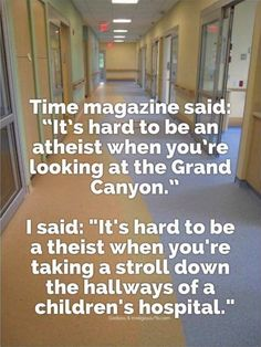 Actually, it's Atheists who understand how the Grand Canyon formed. Why would any god need the Grand Canyon?