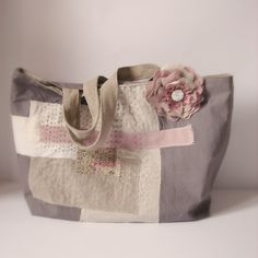 Roxy Creations: Japanese style embroidered tote
