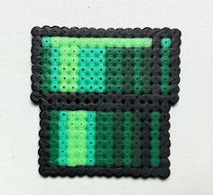 Super Mario - Pipe. Created from hama beads