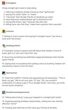 To the first one, that's a term used for a while. It isn't meant as a romantic thing. It's completely used in a platonic way, not pretending to be lesbian