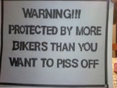 Honestly me, I have 5 in BACA (my legit family) and then my mother is an honorary member of the Hell's Angels. Harley Davidson Quotes, Harley Davidson Motorcycles, Triumph Motorcycles, Custom Motorcycles, Lady Biker, Biker Girl, Motorcycle Humor, Motorcycle Tips, Bike Humor