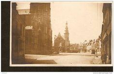 Germany, photo postcard - echte photographier - to identify - Kirche Platz ?  - 1909 - 1917