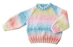 This cute and cozy baby sweater and hat ensemble includes Mary Maxim Sugar Baby Stripes yarn. Sweater Hat, Sugar Baby, Knit Or Crochet, Baby Sweaters, Stripes, Cozy, Pullover, Knitting, Hats