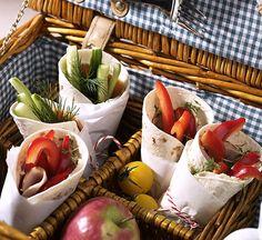 Wrap-Duett - Herzhafte Picknick Rezepte - 5 - [ESSEN & TRINKEN]