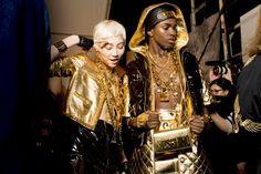 Moschino Fall 2014 - Fashion Backstage