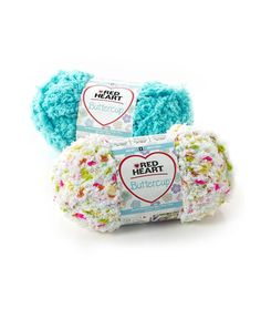 Buttercup - Super soft and snuggly, Buttercup is the ultimate baby yarn! Tiny pom-poms of color blended with a fleecy yarn make it squeezable soft in the ball and even better when knit or crocheted. Perfect for baby booties, sweaters, blankets and toys.