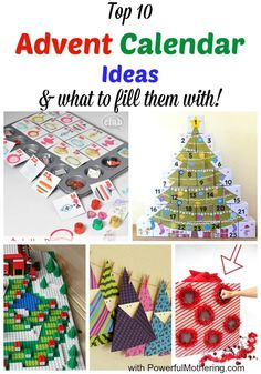 Top 10 Advent Calendar Ideas & What to Fill them with!