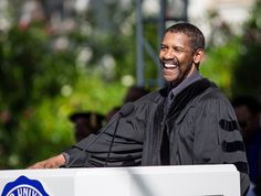 The most inspiring celeb commencement speeches: Denzel Washington.