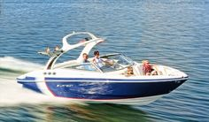 If you're a fan of water sports, this will take you the news but happy and cheerful. This time we have prepared a great article where you can find many useful information. Our topic today is one of the recent Bow Riders model 2014 Larson LXi 258 New