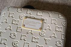 Marc Jacobs iPad case, so lux.♥