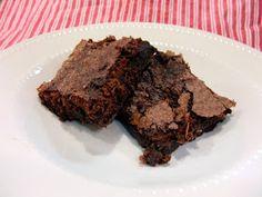 Aunt Peg's Recipe Box: Diet Coke Brownies